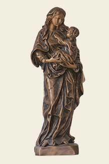 Grabfigur aus Bronze
