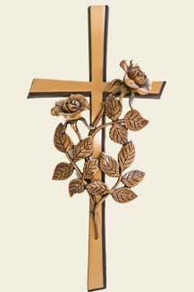 Kreuz als Grabschmuck